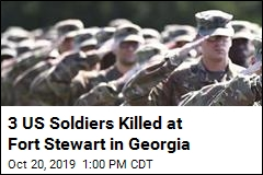3 US Soldiers Killed at Fort Stewart in Georgia