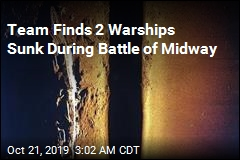 Team Finds 2 Warships Sunk During Battle of Midway