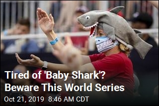 Weird Feature of This World Series: 'Baby Shark'