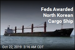 Feds Awarded North Korean Cargo Ship