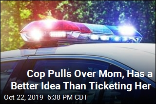 She Expected a Ticket, Got Something Much Better