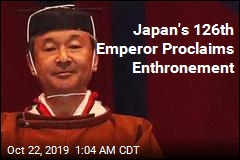 Naruhito Proclaims Himself Emperor