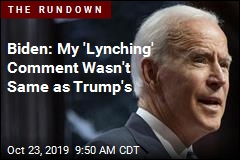 Biden: My 'Lynching' Comment Wasn't Same as Trump's