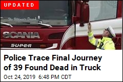 Police Trace Final Journey of 39 Found Dead in Truck