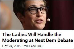 Female Foursome to Moderate Next Dem Debate