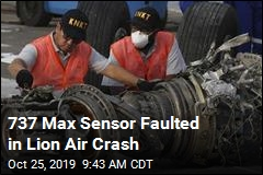 737 Max Sensor Faulted in Lion Air Crash
