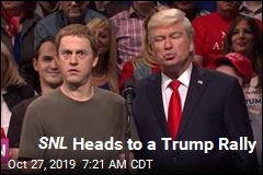 SNL Heads to a Trump Rally