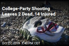 College-Party Shooting Leaves 2 Dead, 14 Injured