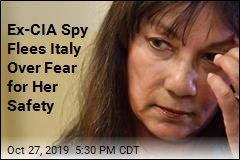 Ex-CIA Spy Flees Italy Over Fear for Her Safety