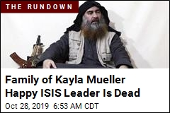 Family of Kayla Mueller Happy ISIS Leader Is Dead
