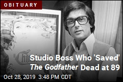 Studio Boss Who 'Saved' The Godfather Dead at 89