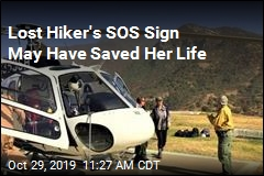 Lost Hiker's SOS Sign May Have Saved Her Life