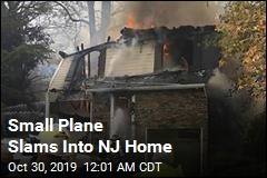 Small Plane Crashes Into New Jersey Home