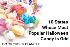 10 States Whose Most Popular Halloween Candy Is Odd