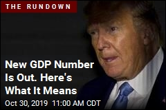 New GDP Number Is One Trump Once Assailed