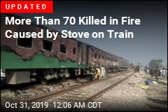 Dozens Killed in Fire on Pakistan Train