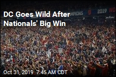DC Goes Wild After Nationals' Big Win