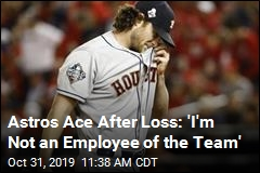 Ace Pitcher Sends Message After World Series Loss
