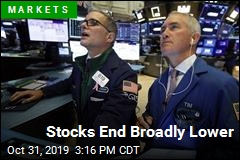 Stocks End Broadly Lower