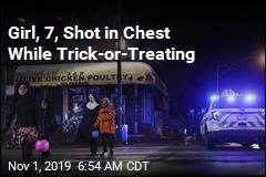 Girl, 7, Shot in Chest While Trick-or-Treating