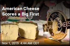 American Cheese Scores a Big First