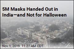 5M Masks Handed Out in India—and Not for Halloween