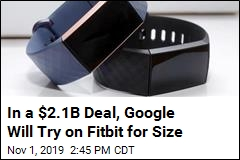 Google Broadens Business, Pushes Apple by Buying Fitbit