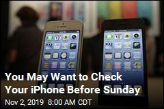 Have an Older iPhone? It May Stop Working Sunday