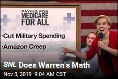 SNL Does Warren's Math