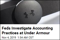 Feds Probe Alleged Shady Accounting at Under Armour
