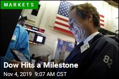 Dow Hits a Record High