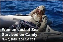Woman Lost at Sea Survived on Candy