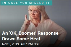 An 'OK, Boomer' Response Draws Some Heat