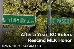 After a Year, KC Voters Rescind MLK Honor