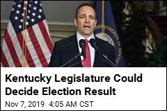 Kentucky Governor Takes Step Toward Recount