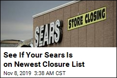 See If Your Sears Is On Newest Closure List