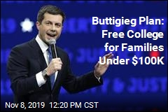 Buttigieg Plan: Free College for Families Under $100K