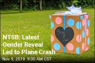 NTSB: Latest Gender Reveal Led to Plane Crash