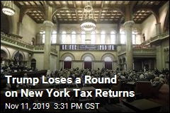 Judge Rejects Trump Move Against NY Law on Tax Returns