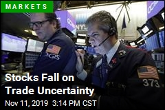 Stocks Fall on Trade Uncertainty