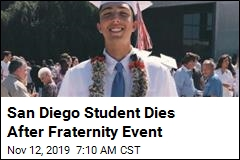 University Suspends 14 Frats After Student's Death