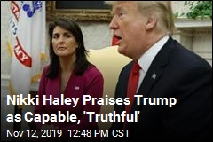 Nikki Haley Gives Strong Defense of Trump