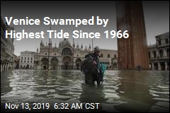 Venice Swamped by Highest Tide Since 1966