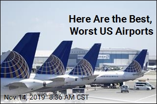 Here Are the Best, Worst US Airports