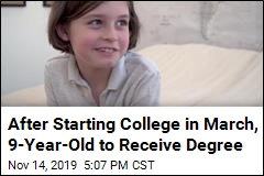 Engineering Student Is Ready for Graduate School at Age 9