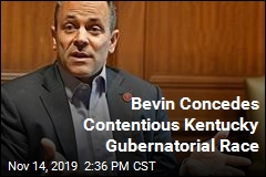 Bevin Concedes Contentious Kentucky Gubernatorial Race