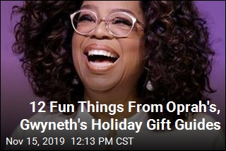 12 Fun Things From Oprah's, Gwyneth's Holiday Gift Guides