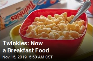 Twinkies: Now a Breakfast Food
