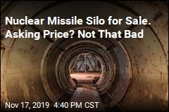 Nuclear Missile Silo for Sale