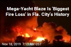 Mega-Yacht Blaze Is 'Biggest Fire Loss' in Fla. City's History